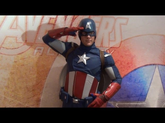 Marvel Captain America Meet & Greet on The Disney Magic Cruise on Winter Soldier Premiere Night