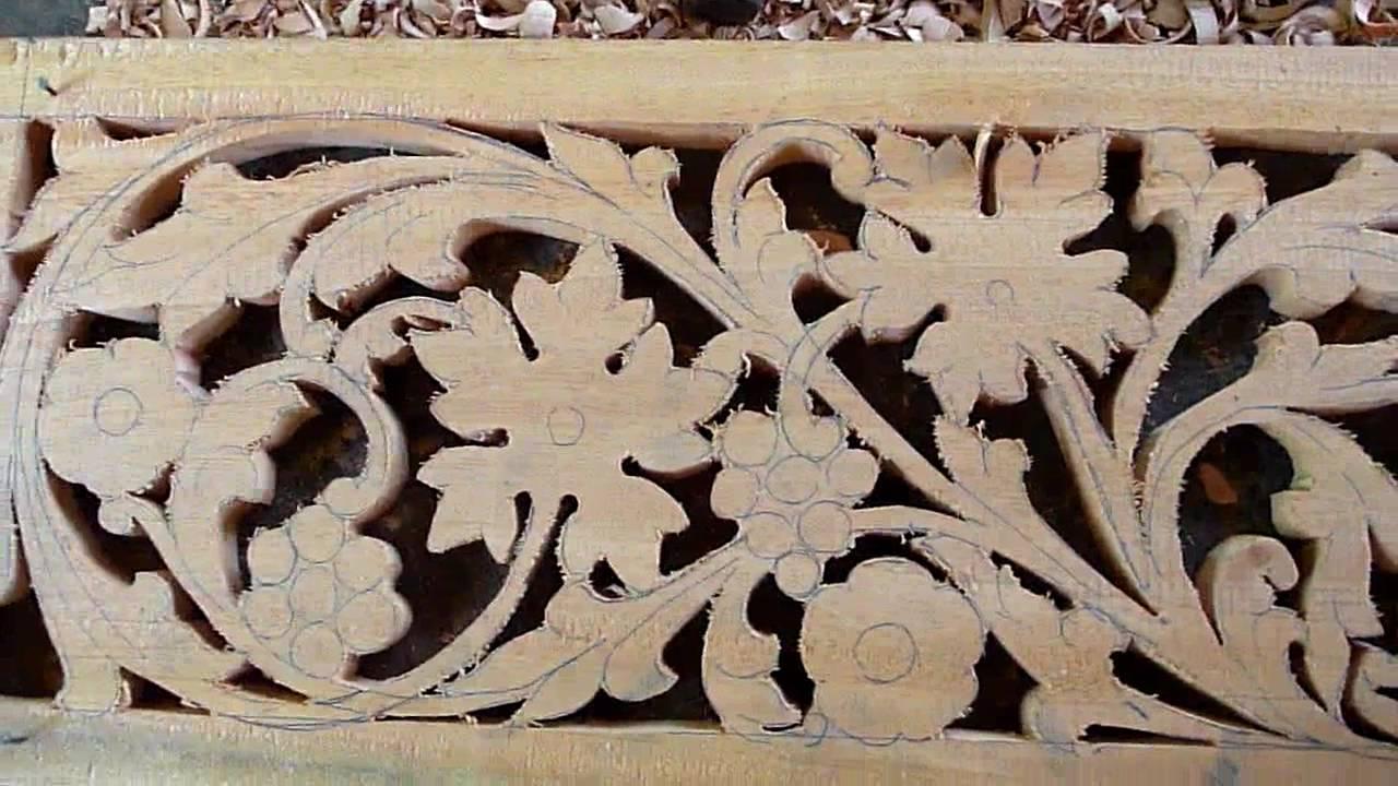 Sri Lanka CeylonHandmade Wood Carving In A