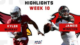 Kyler Murray vs. Jameis Winston Highlights | NFL 2019