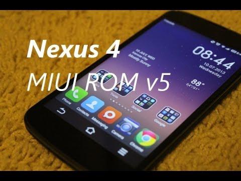 Nexus 4 MIUI ROM V5