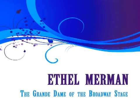 Ethel Merman - How Deep In The Ocean video
