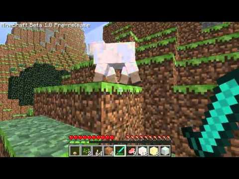 Minecraft 1.8 ออกแล้ว !!! [ทดลองเล่น มี Bug]