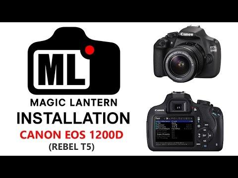 Magic Lantern on EOS 1200D - Install Guide + Quick Looks thumbnail