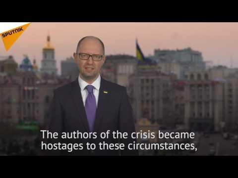 I Decided to Resign: Ukrainian PM Yatsenyuk's Resignation Announcement