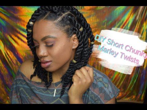Marley Twists. Long vs Short! (Collab w/ @HairDeLaCreme)