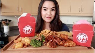 Panda Express MUKBANG - Q&A: Marriage and YouTube Full Time?? | Eating Show