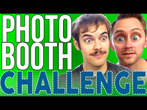 PHOTO BOOTH CHALLENGE | Jacksfilms