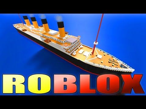 Roblox SINKING TITANIC SURVIVAL Game!!