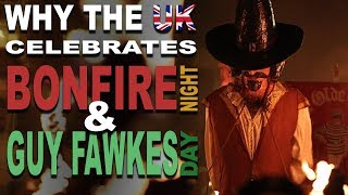 Disturbing Origin of Bonfire Night & Guy Fawkes Day