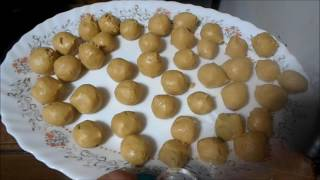 How to make peanut butter balls