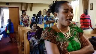 """Usiogope Vita Uliyomo Ndani"" by Ps. Mabamba at Come to Jesus Ministries, Denver, CO"