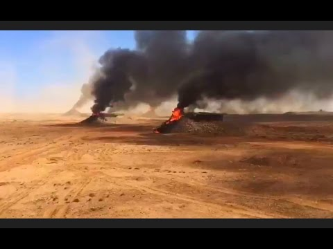 مقطع مرعب بالدخيرة الحية في الصحراء المغربية