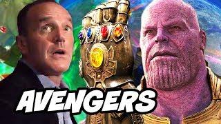 Avengers Infinity War - Agents of SHIELD Season 5 Episode 1 - 2 Easter Eggs