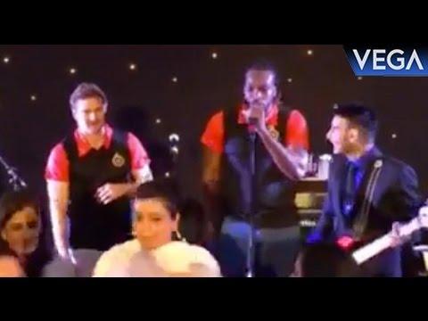 Chris Gayle Singing Champion Song At Party
