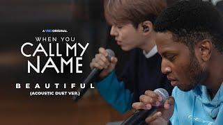 MONSTA X ft. Gallant ? Beautiful (Acoustic Duet Ver.) 4K | Official MV