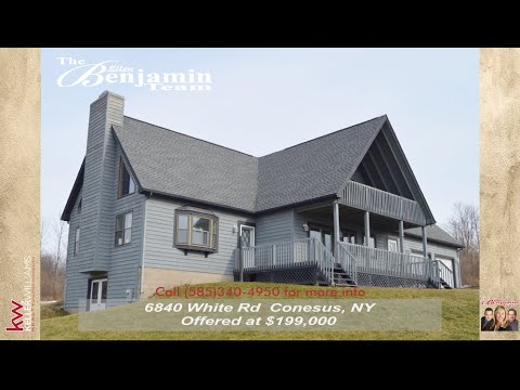 Homes for Sale 6840 White Rd Conesus NY 14435