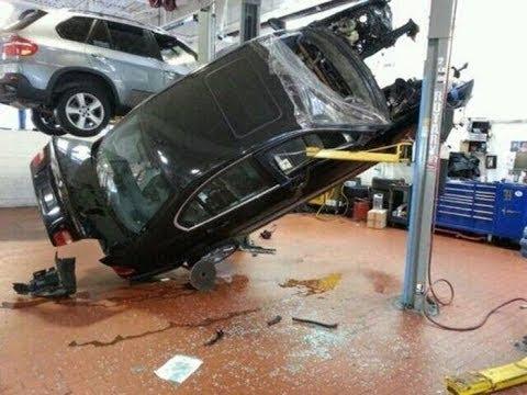 Подборка ПРИКОЛЫ и ЖЕСТЬ на СТО №1/Fun in auto repair shop!