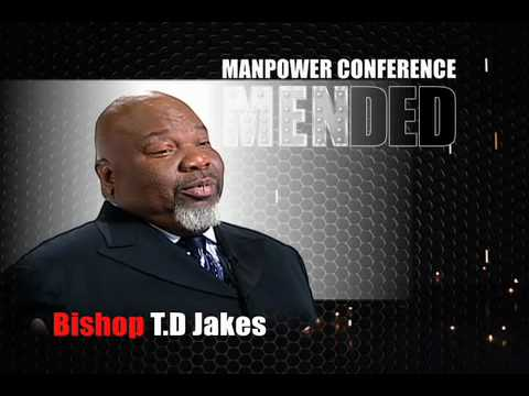 Bishop T.D. Jakes - Manpower Conference 2010 - Part 1