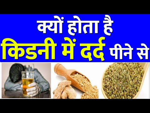 How Alcohol Effect on Kidney | Kidney Pain After Drinking Water | शराब पीना पड़ेगा भारी - गुर्दे पर
