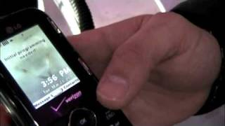 LG Cosmos (Verizon) Hands-On @ CTIA 2010