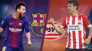 Trực tiếp Barcelona vs PSV - Vòng bảng Cúp C1 Champions League 2018