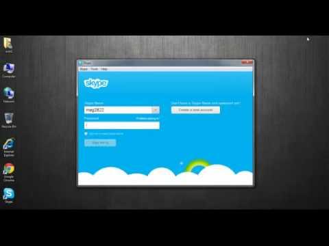 วิธีการติดตั้งและโทรฟรีผ่าน Skype
