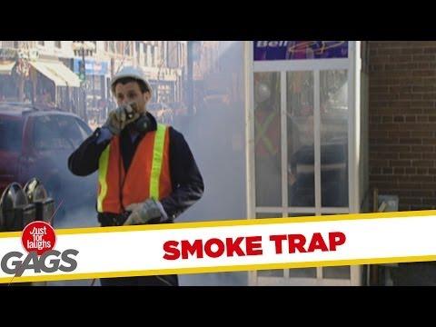 Jfl Hidden Camera Prank: Smoke Trap video