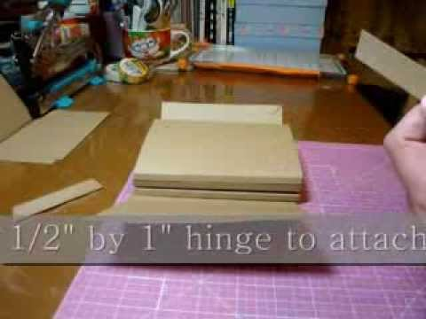 Tutorial for Playful Pocket Wallet Flip Mini - scrapbooking mini album