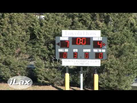 Haverford at Loyola Blakefield MIAA Action Only on iLacrosse Television 3/17/2010