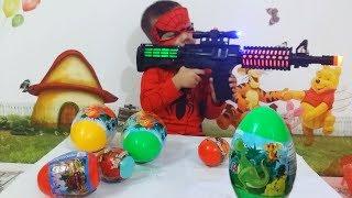 Tuấn Minh dùng súng AKA săn được rất nhiều TRỨNG KHỦNG LONG  mp4