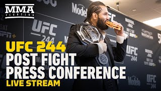 UFC 244 Post-Fight Press Conference Live Stream - MMA Fighting