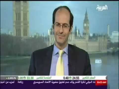 Ashraf Laidi Previews 2012 with Alarabiya's Nadine Hani Chart