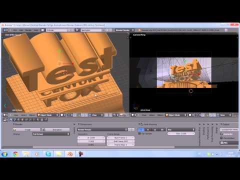 [tutoial-hd]blender 20th Century Fox Animation + Download kostenlos- Selbst Erstellen [deutsch] video