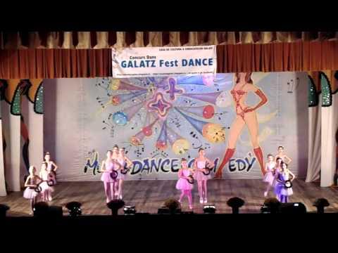Clubul Dance Art Valian -Galatz Fest Dance-Locul I
