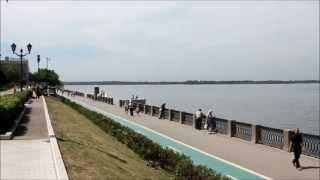 Самара. Набережная реки Волги. Июнь 2013.