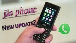 Jio phone ka WhatsApp ma aaya new update   new update in jio phone  everything unique