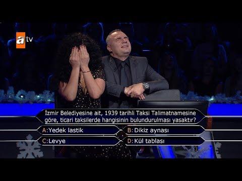Oktay Kaynarca ile Deniz Çakır 125 Bin TL'lik Soru? - Kim Milyoner Olmak İster? Yılbaşı Özel'de!