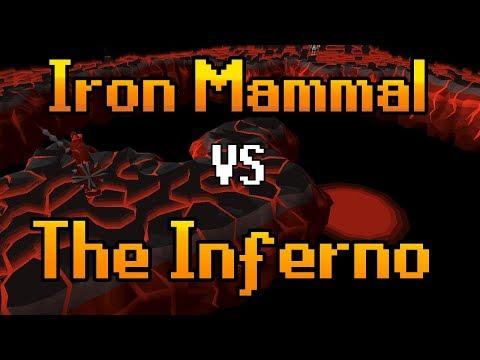 Oldschool Runescape - Iron Mammal vs The Inferno