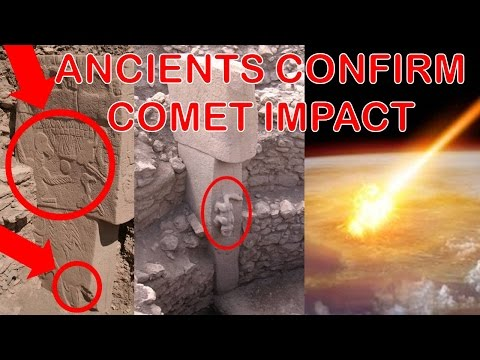 Gobekli Tepe Stone Carvings Indicate Comet Impacted Earth & Reset Ancient Human Civilization