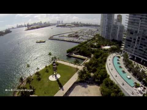 DJI Phantom & DJI Zenmuse H3-2D - Gimbal Test Flights - Miami