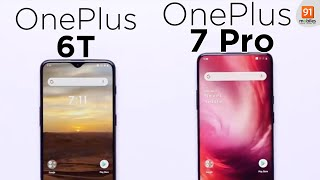 OnePlus 7 Pro vs OnePlus 6T: Comparison overview [Hindi हिन्दी]