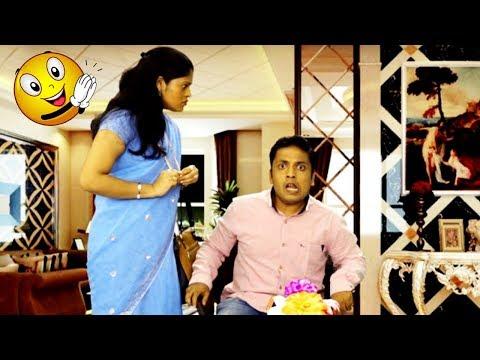 नवराचं कामवाली बाई बरोबर चक्कर - Funny Husband | Marathi Latest Comedy Jokes