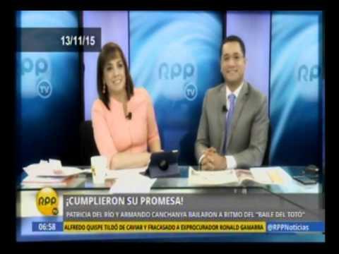 RPP Noticias: Patricia del Río baila Mueve el Totó