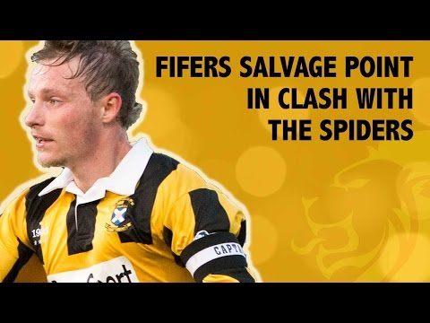 Fifers salvage point in clash with The Spiders