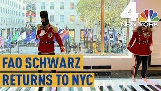 FAO Schwarz Finally Reopens in New York City | NBC 4 New York