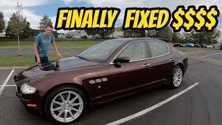 Here's Why You Should NEVER EVER Buy a Cheap Maserati Quattroporte