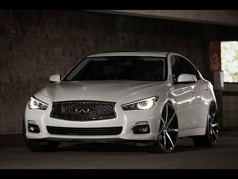 "2015 Infiniti Q50 For Sale >> 2014 Infiniti Q50 on 22"" Lexani Wheels - YouTube"