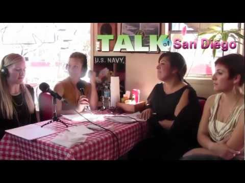 The Talk of San Diego Radio Show with Mallory Ownbey at Kansas City BBQ San Diego, CA
