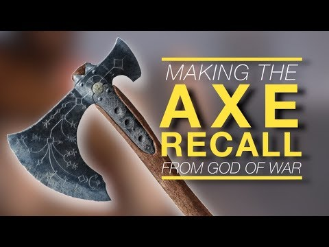Making God Of War's Axe Recall sound with just an iPhone mic thumbnail