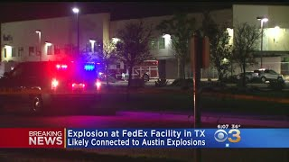 Package Bomb Explodes At Fed Ex In Texas; 1 Hurt